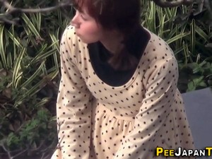 Asian Slut Pees In Toilet Film