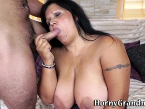 Fat Granny Gets Pounded
