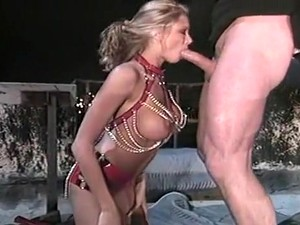 Hot Blond Whore Butt Fucked On Rooftop