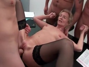 Incredible Amateur Gangbang, Small Tits Xxx Video