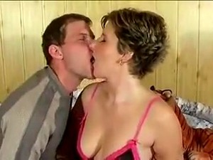 Nice Tits Cum Kiss