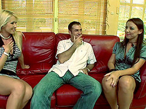 Linda Shane And Maria Bellucci Share A Prick In FFM Reality Clip