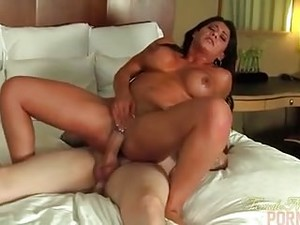Fit Model Leena Fucks A Big Hard Cock