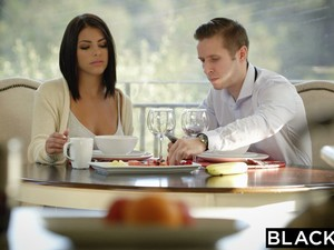 Brunette Adriana Chechik Takes Trio Of BBCs