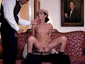 Double Penetration For A Sweet Brunette Jessyka Swan