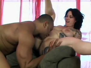Tattooed Bitch Michelle Loves A Big Cock To Eat And Pump Her Like Crazy