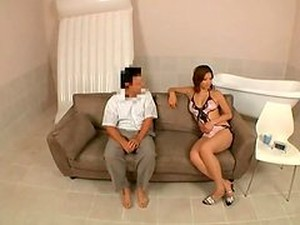 Blowjob And Rimjob By Hot Japanese In Lingerie