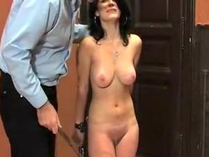 Crazy Amateur Video With Brunette, BDSM Scenes