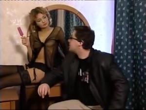 Russian Threesome MMF Fuck