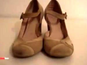 My Sisters Shoes: Brown Heels I 4k