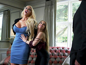 Alessandra Jane And Emma Butt Are Stunning Babes Craving A Cock