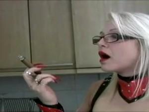 Fabulous Amateur Femdom, Kitchen Sex Clip