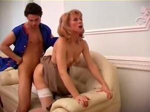 Hottest Mature, Stockings Sex Movie