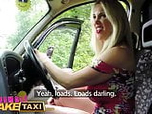 FemaleFakeTaxi Secret Affair Leads To Lesbian Fun And Orgasm