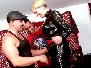 Blonde Chick Needs More Than One Long Shaft To Get Pleased
