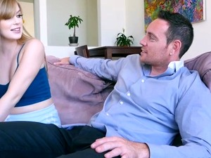 Hot Blonde Dolly Leigh Rides Her Roommates Fat Dick