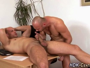 Drilled Dude Shoots Load
