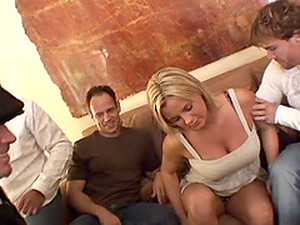Bree Starts With One Guy, But Ends Up Having A Gangbang