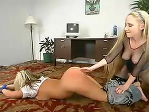 Stunning Chanta-Rose Gets Spanked And Toyed By Girlie