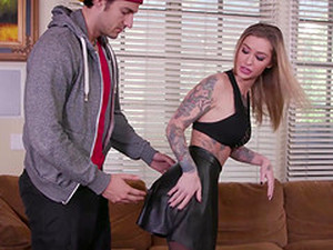 Girlfriend Teaches My Husband How To Fuck A Women