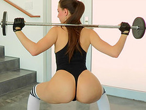 Her Workout Ends With A Hard Dick Buried Deep Inside Her