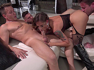 Nothing Makes Malena Happy Like Getting Fucked By More Guys At Once
