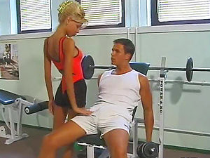 Sizzling Nici Blond Gets Fingered And Fucked In The Gym