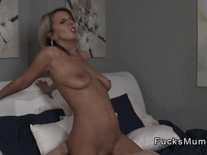 Blonde Mature Lady Gently Fucks