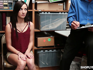 Cute Busty Girl Jade Amber Gets Suspected And Properly Fucked By Detective