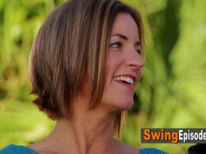 Swing House Season 5 Episode 1 Excited Couple Can't Wait To Have The Hottest Party Ever