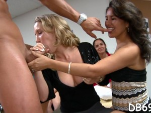 Tons Of Group Sex On Dance Floor Clip Feature 3