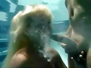 Underwater Surprise Blowjob
