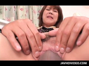 Japanese Redhead Slut Pussy Drilled Hardcore In Close-up