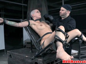 Restrained Sub Dominated Over By Maledom