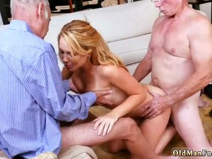 Danish Teen Couple And Daddy Gives Big Tits Frannkie And The Gang Tag Team A Door To Door