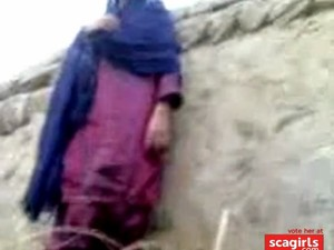 Pakistani Village Girl Fucking Hiding Against Wall Segment