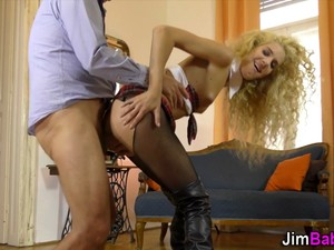 Fucked Blonde Teenager