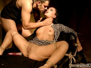 Submissive Babe Gets Her Ass Slammed