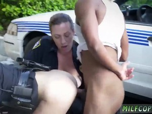 Milf English Sub I Will Catch Any Perp With A Big Darkhued Dick And Gargle It