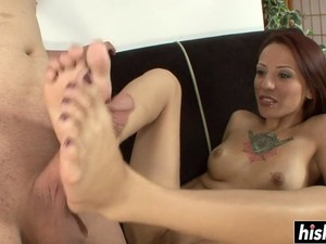 Her Small Feet Make Him Cum Feature Segment 1