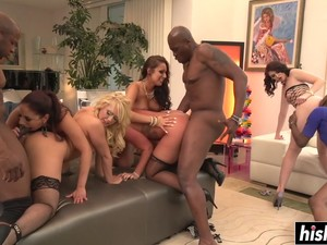 Group Sex Can Please Them All Video