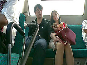Public Fucking On The Bus Makes Miyuki Yokoyama Cum Hard
