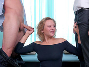 Fake Tits Delilah Ravished Hardcore Doggystyle In Mmf Porn