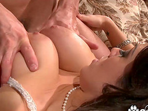 Big Boobs Brunette Sienna West Fucks Doggystyle A Big Cock