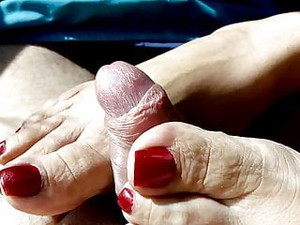 Footjob In Car 2