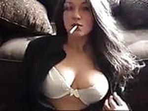 Elizabeth Douglas Vogue 120s Cigarette Webcam