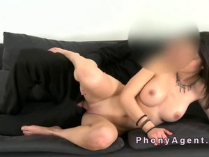 Busty Hungarian Amateur Teen Fucks On Casting