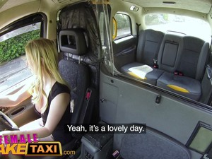 Female Fake Taxi Tea Bagging Squirting And Hard Fuck With Georgie Lyall