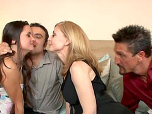Nina Hartley And Stephanie Swift Have Gotten Bored Of Their Husbands Cocks. So
