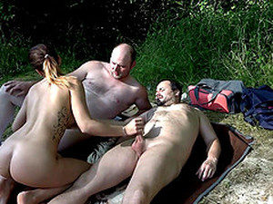 Outdoor Group Sex With Cum For Teen Babes Samy Saint And Natalie Hot